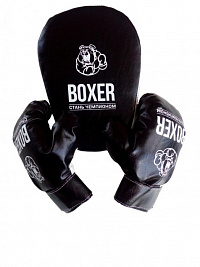 Boxing set No. 7 (paw and gloves) fabric (12pcs)
