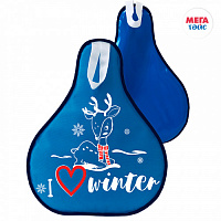 Ice boats with print 52*42 cm blue (30pcs)