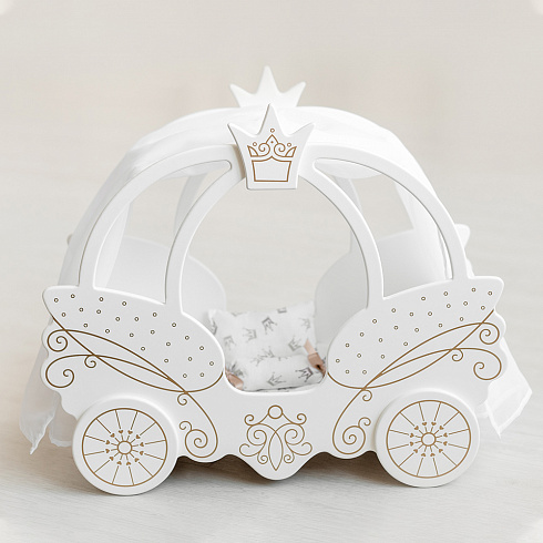Bed carriage (white)